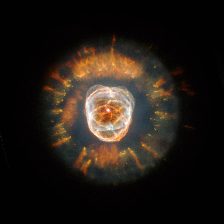 Атом водорода под сканирующим электронным микроскопом