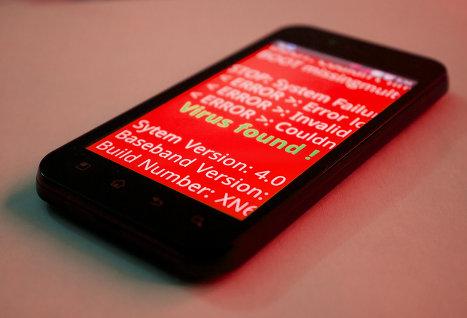 Вирусы все чаще атакуют телефоны