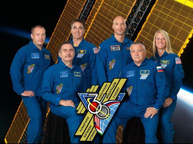 Новый экипаж МКС