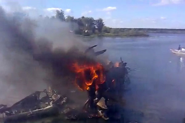 В авиакатастрофе погибла вся команда Локомотив