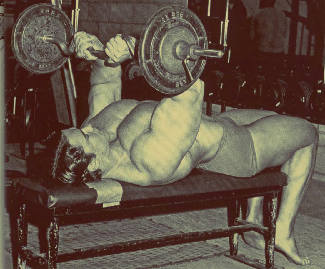 Арнольд знает все самые эффективные упражнения на трицепс