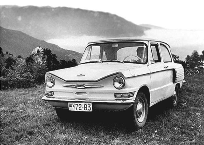 Прототип ЗАЗ-966 (1961 год)