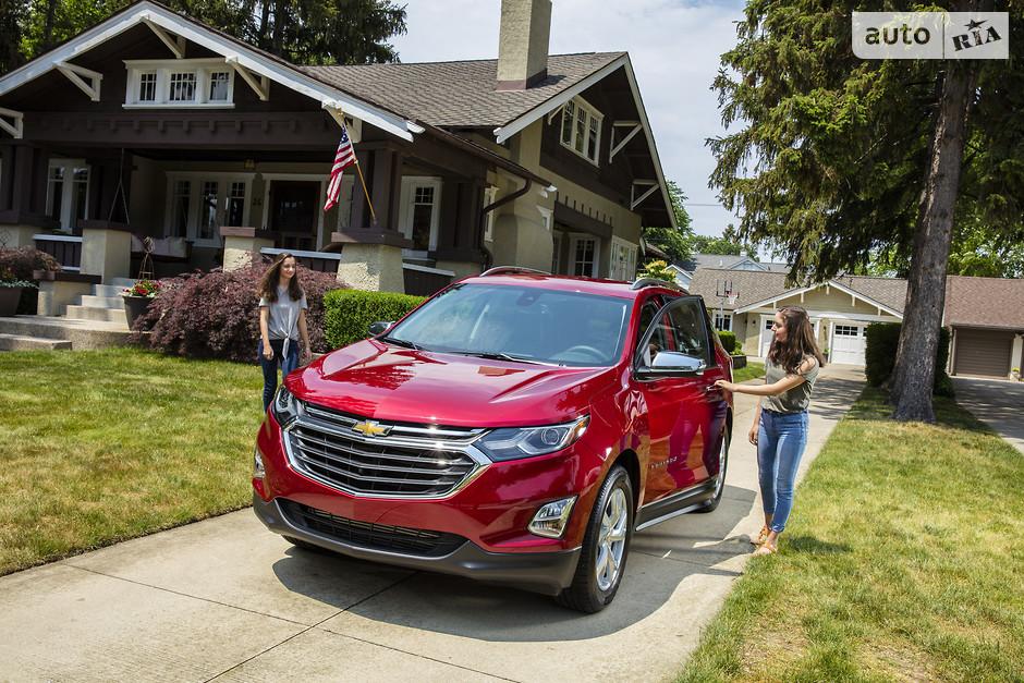 Chevrolet Equinox (109 334 проданных авто)