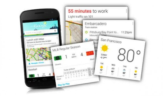Новые возможности Google Now