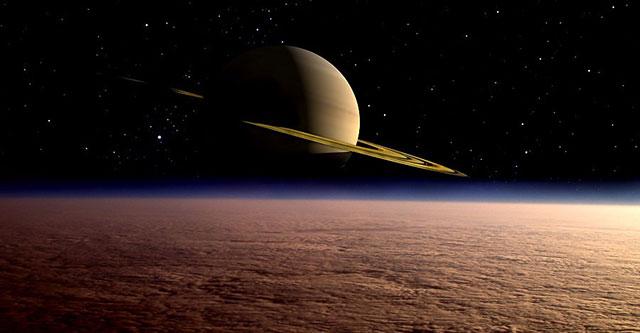 Спутник Сатурна представлял собой сплошной снежный ком