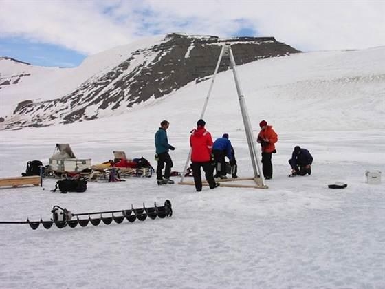 Во льдах удалось обнаружить неизвестных ранее микробов