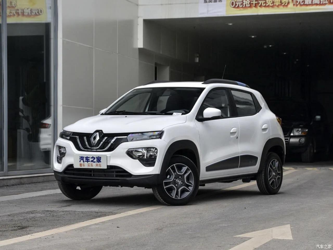 Самый доступный электромобиль из Китая в Украине Renault City K-ZE