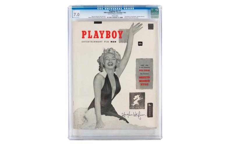 Первый выпуск Playboy с автографом Хефа продан на аукционе