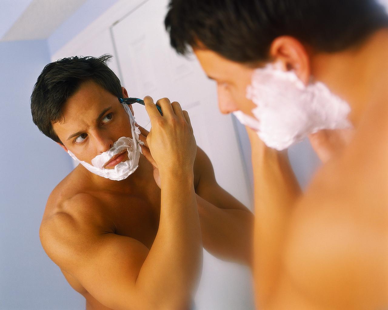 Как правильно брить усы - 343