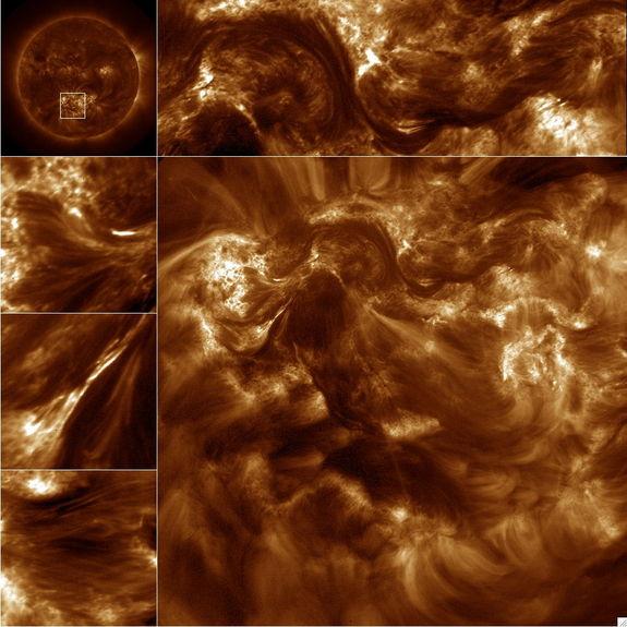 Снимки Солнца