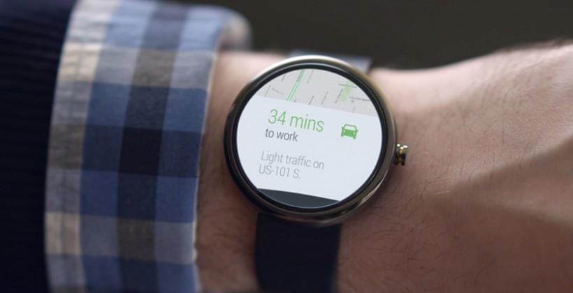 «Умные часы» работают на Android Wear