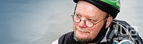Осмо Сойнинваара, председатель «Зеленого союза» Финляндии
