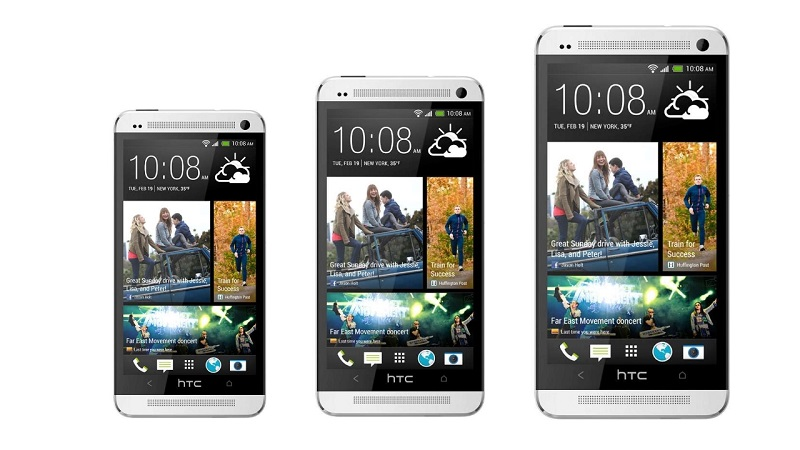 Модельный ряд: HTC One mini, HTC One, HTC One max