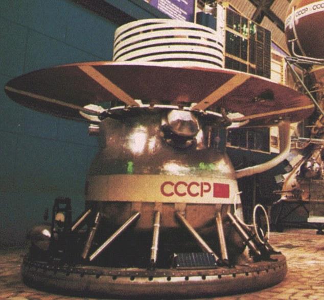 Один из аппаратов, спустившихся на Венеру