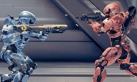 Halo 4 покорила геймеров