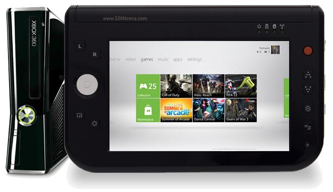 Вероятный концепт Xbox Surface