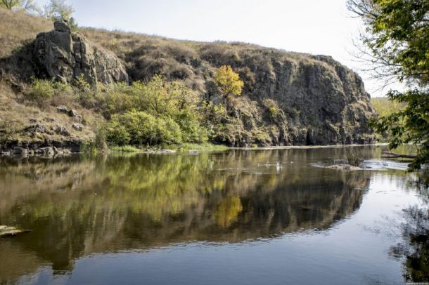Река Синюха - одна из самых чистых рек Украины