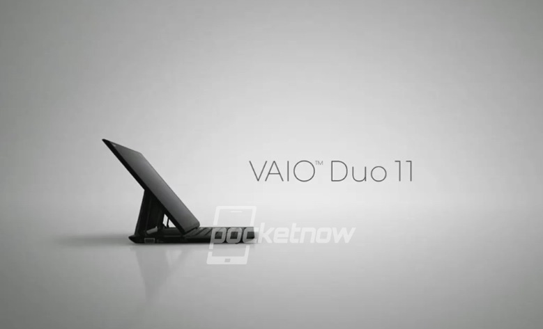 Sony Vaio Duo 11 работает на Windows 8