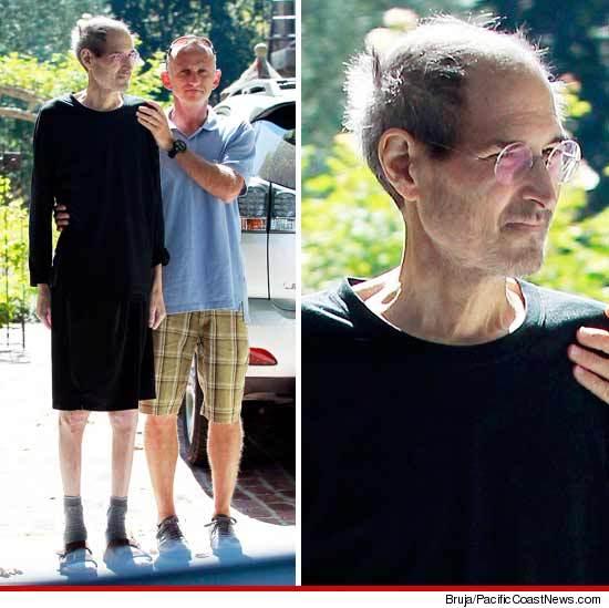 Фото с умирающим Стивом Джобсом