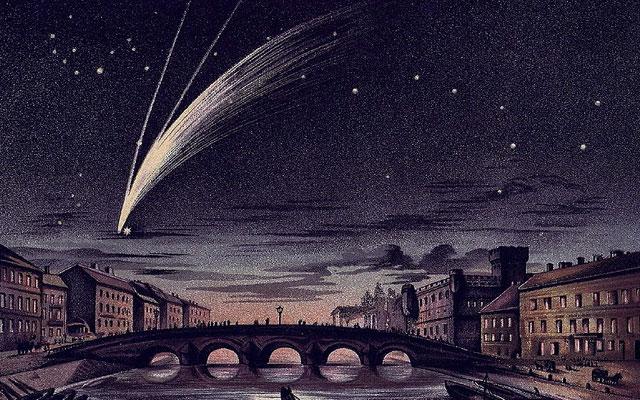 Как выглядела большая мартовская комета 1843 года, сегодня мы можем только гадать