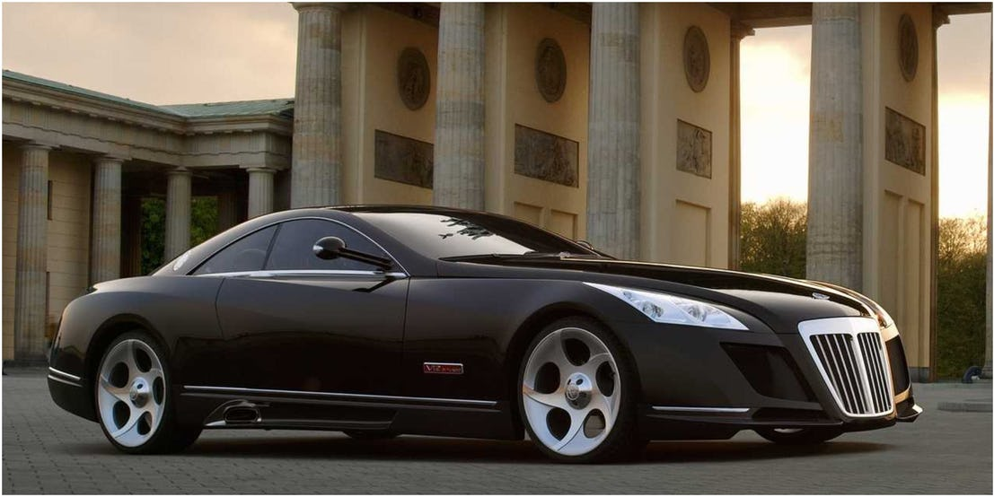 4. Maybach Exelero - 8 млн долларов