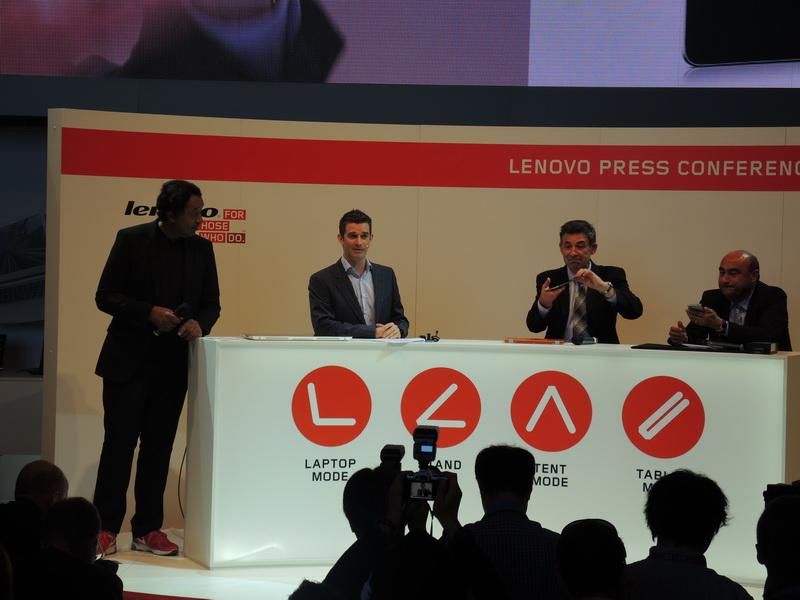 На официальной презентации смартфона Lenovo Vibe X и планшета Lenovo S5000