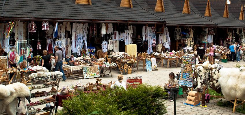 Базар - одно из самых популярных мест в Косове