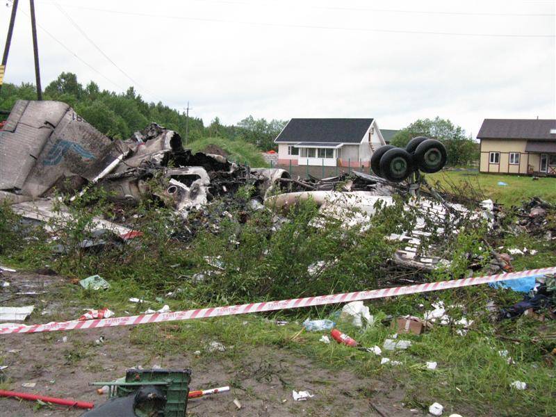 В катастрофе под Донецком погибли 170 человек