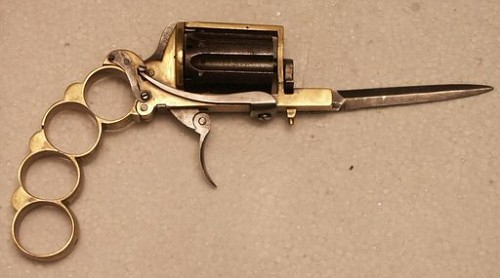 Револьвер может быть холодным оружием