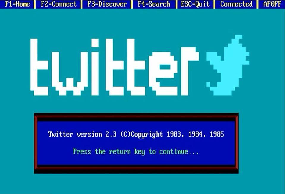 Логотип Twitter чуть менее, чем слабо напоминает ту самую, нам знакомую птичку. Некоторые могут опознать в нем смотрящего в небо слона, например