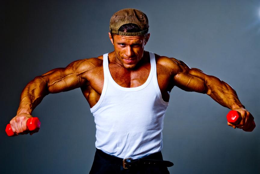 Правильное дыхание и усердные тренировки сделают из тебя сильного мужчину