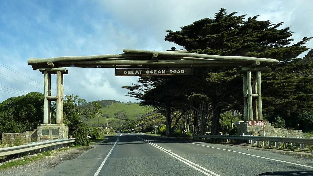 Great Ocean Road в Австралии