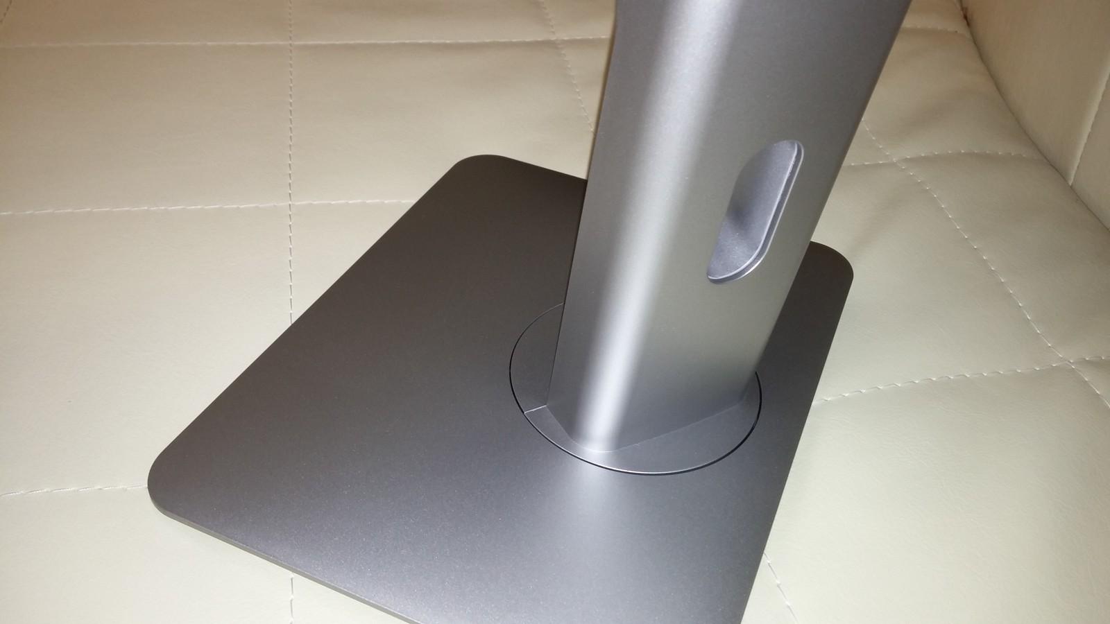 Dell P2214H - регулировка по горизонтали