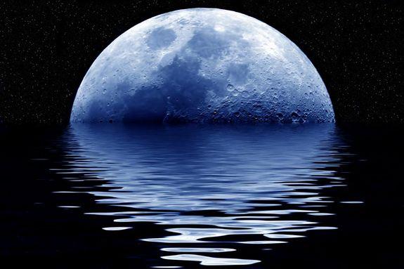 Челл на луне