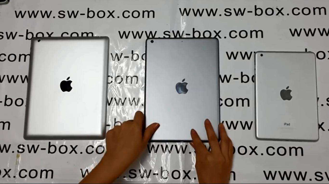 Слева направо: iPad 4, iPad 5, iPad mini