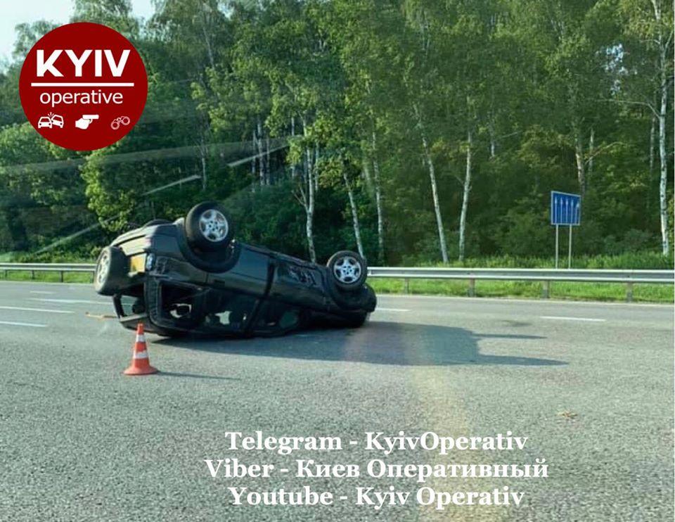 Происшествия на дорогах Киева и области: Сводка за 17 июня