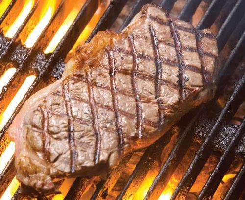 Правило №1: языки пламени никогда не должны касаться стейка