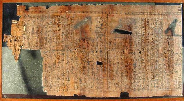 Манускрипт, части которого нашел доктор Тейлор