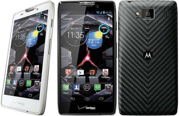 Новая серия телефонов Droid RAZR