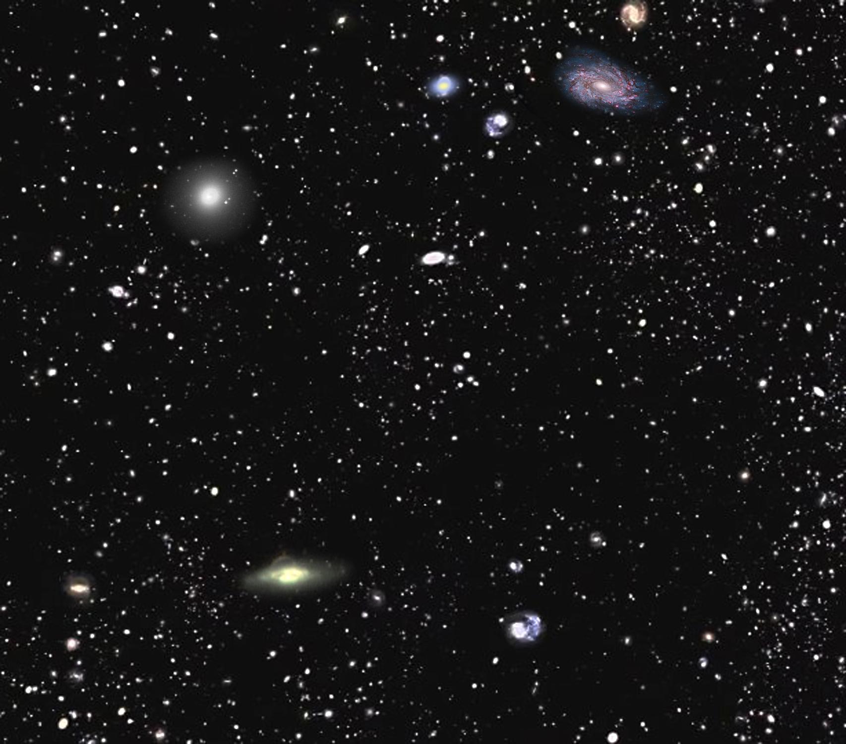 Самая подробная карта Вселенной