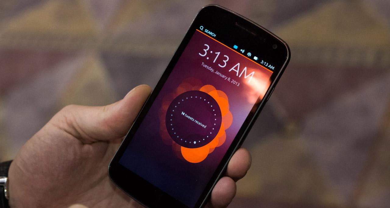 Ubuntu для смартфонов