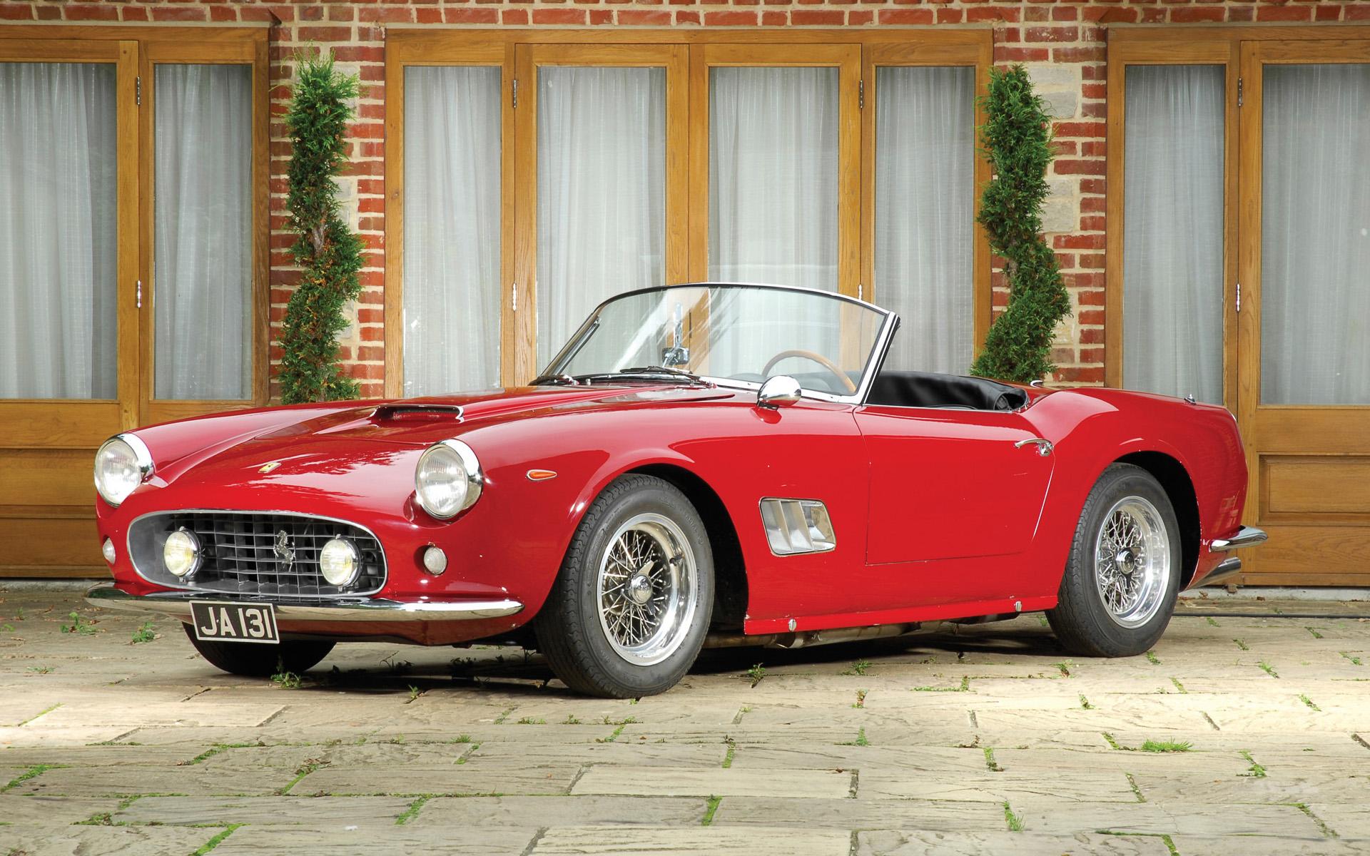 Крис Эванс отдал за Ferrari 250 GT Spyder California SWB 6 миллионов евро