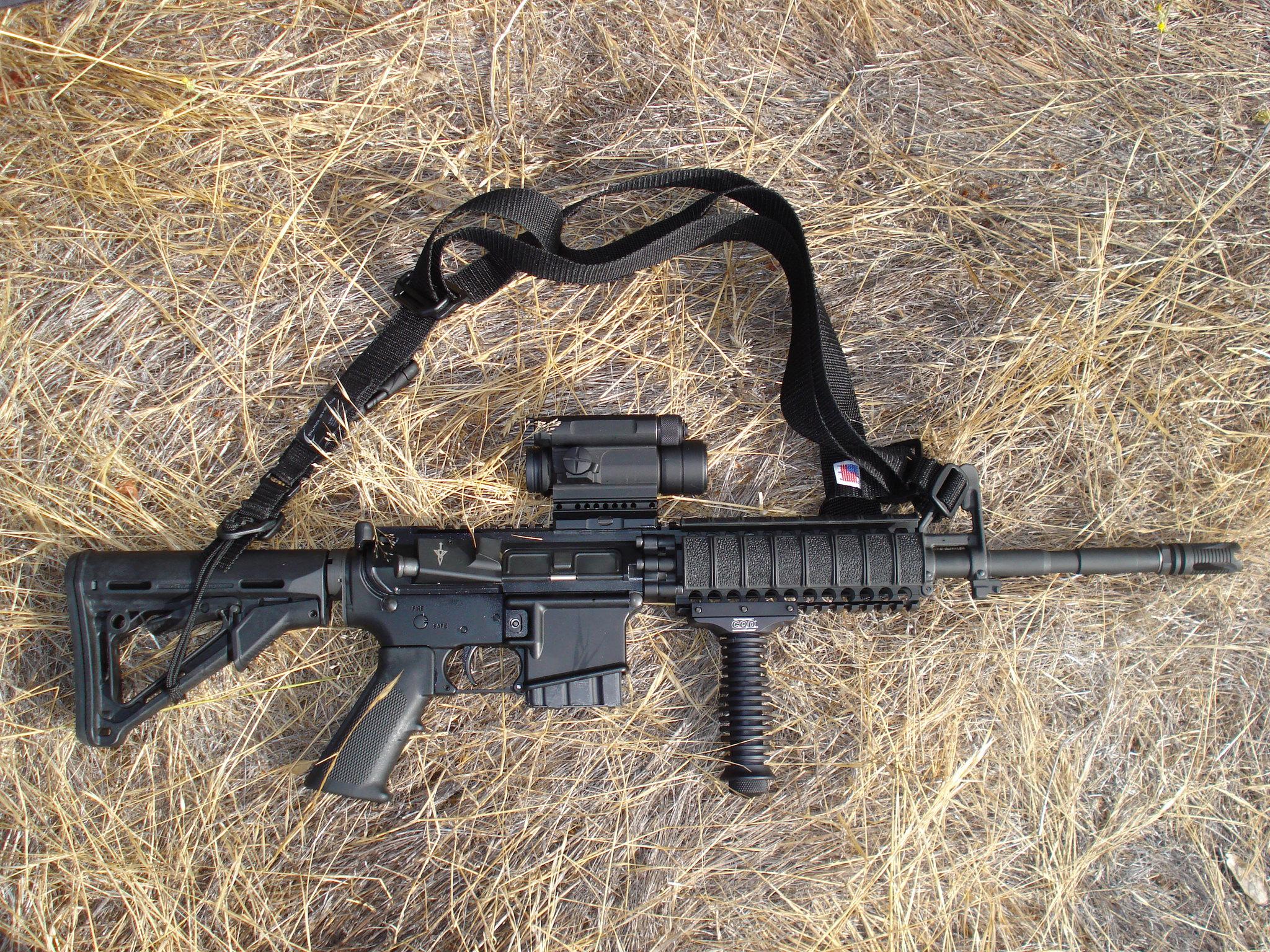 Штурмовая винтовка (автомат) AR-15 / M16