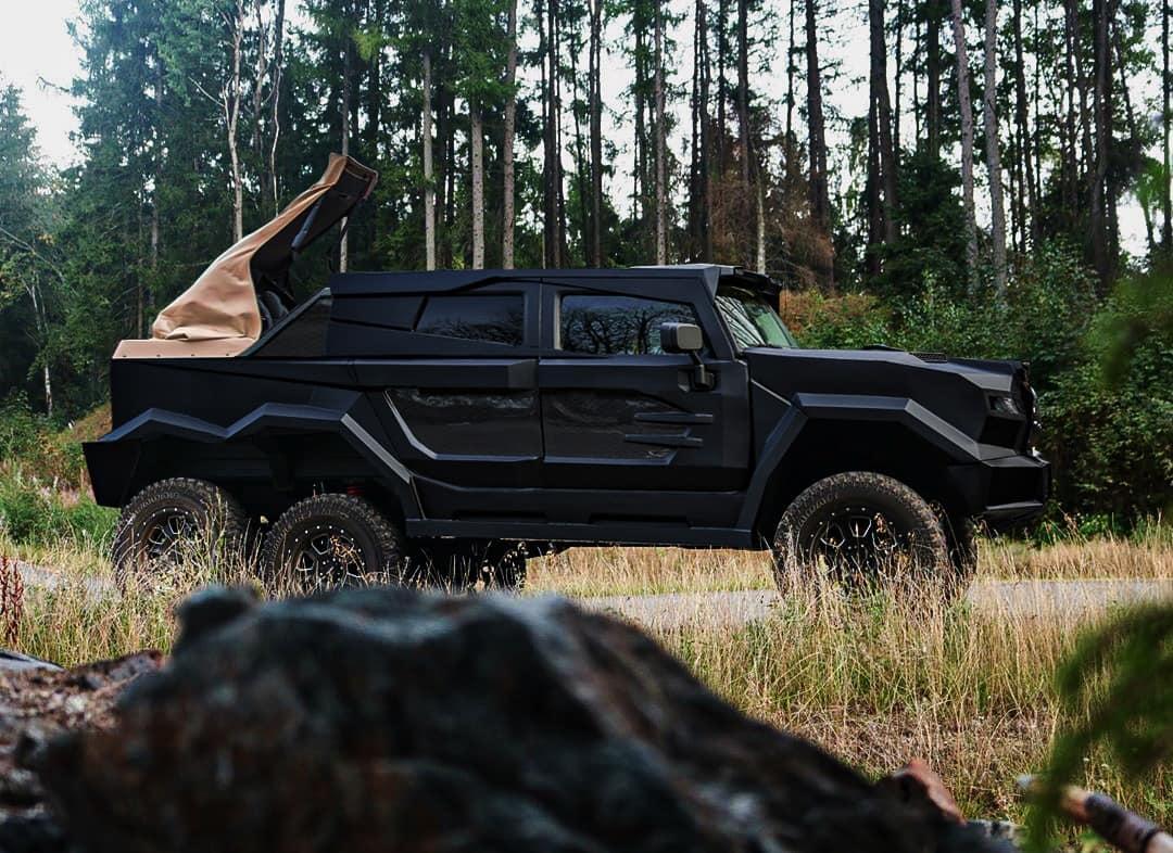 Dartz станет самым дорогим в мире шестиколесным авто