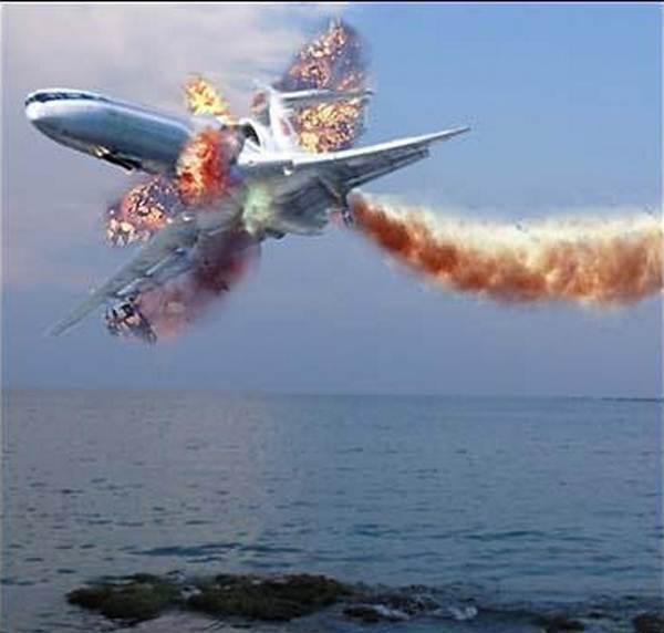 Самолет ТУ-154 был сбит над Черным морем