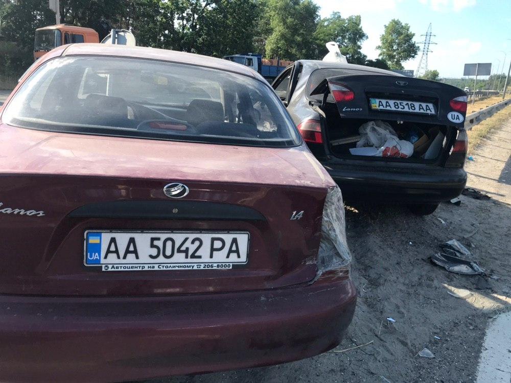 ДТП произошло на улице Днепроводской, 16