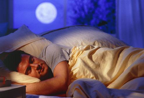 Сон - отличное лекарство для мужчин