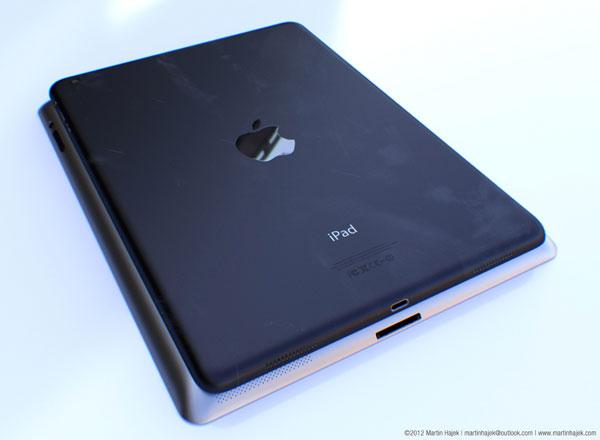 Новый iPad может сменить дизайн