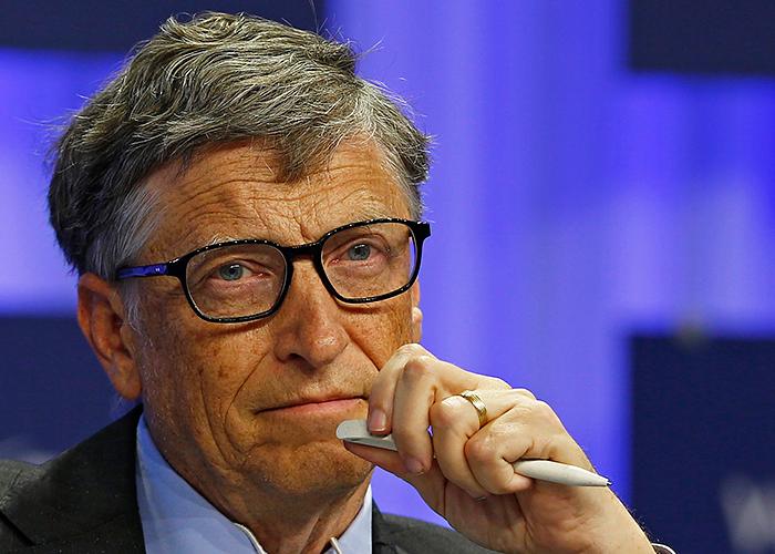 Билл Гейтс — американский предприниматель и общественный деятель, филантроп, один из создателей и бывший крупнейший акционер компании Microsoft