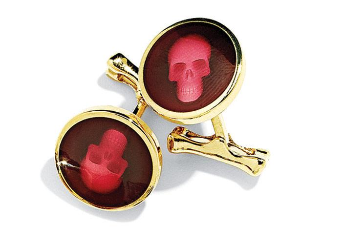 Alexander McQueen Enamel skull - 2600 гривен